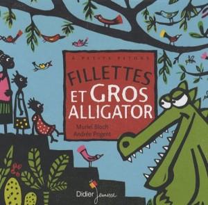 """Afficher """"Fillettes et gros alligator"""""""