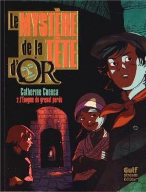 """Afficher """"Mystère de la Tête d'Or (Le) n° 2 Enigme du grenat perdu (L')"""""""