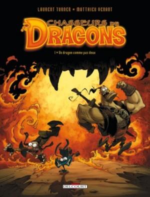 """Afficher """"Chasseurs de Dragons n° 1 Un dragon comme pas deux"""""""