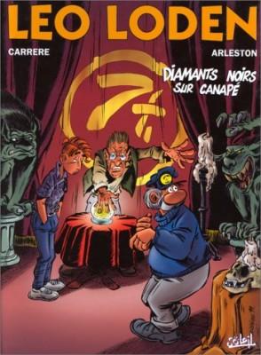 """Afficher """"Léo Loden n° 11 Diamants noirs sur canapé"""""""