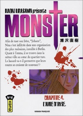 "Afficher ""Monster. n° 4 L'amie d'Ayse"""