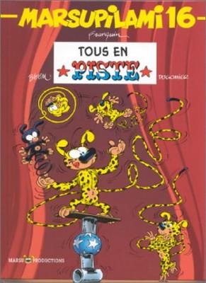 "Afficher ""Marsupilami n° 16 Tous en piste"""