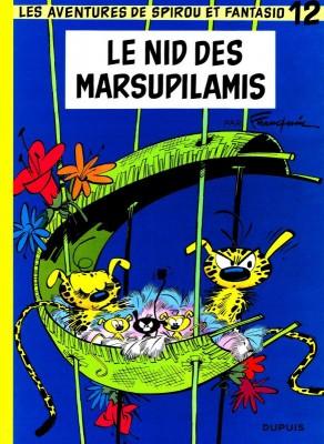 """Afficher """"Spirou et Fantasio n° 12 Le Nid des Marsupilamis"""""""