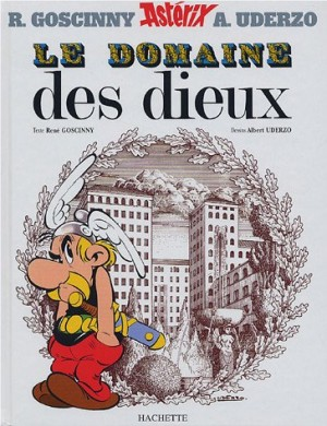 vignette de 'Une aventure d'Astérix n° 17<br /> Le domaine des dieux (René Goscinny)'