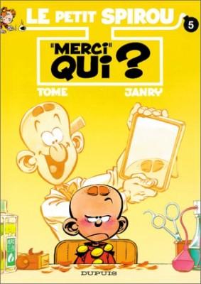 "Afficher ""Le Petit Spirou n° 5Merci qui ?"""
