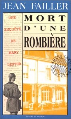 """Afficher """"MORT D'UNE ROMBIERE LA"""""""