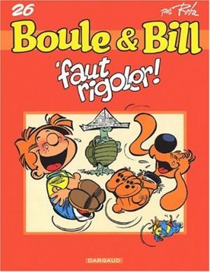 """Afficher """"Boule & Bill n° 26Boule & Bill n° 26'Faut rigoler !"""""""