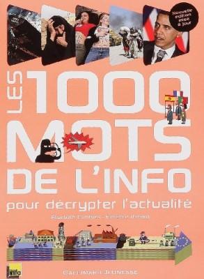 """Afficher """"1.000 mille mots de l'info (Les)"""""""