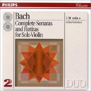 """Afficher """"Six sonates et partitas pour violon seul"""""""
