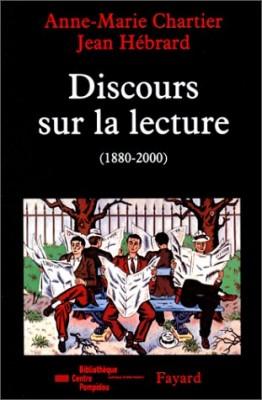 """Afficher """"Discours sur la lecture"""""""