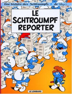 """Afficher """"Les Schtroumpfs n° 22 Le Schtroumpf reporter"""""""