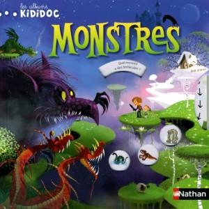 """Afficher """"Les albums Kididoc Monstres"""""""