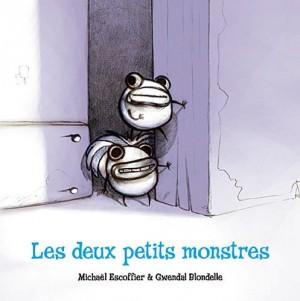 """Afficher """"Les deux petits monstres"""""""