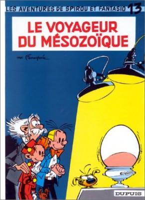 """Afficher """"Spirou et Fantasio n° 13 Le voyageur du Mésozoïque"""""""