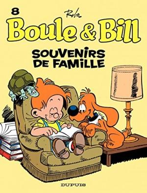 """Afficher """"Boule et Bill n° 8 Souvenirs en famille"""""""