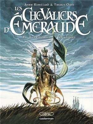 """Afficher """"Les Chevaliers d'Émeraude - BD n° 01 Les Enfants magiques"""""""