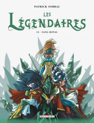 """Afficher """"Les Légendaires n° 13 Sang royal"""""""