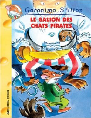 """Afficher """"Geronimo Stilton n° 2 Le galion des chats pirates"""""""