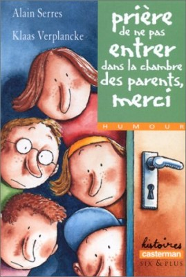 """Afficher """"Prière de ne pas entrer dans la chambre des parents, merci"""""""