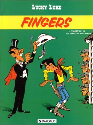 """Afficher """"Lucky Luke... n° [48]Fingers"""""""