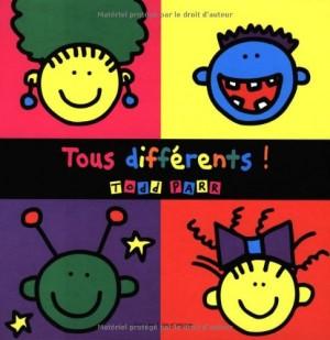 vignette de 'Tous différents ! (Todd Parr)'