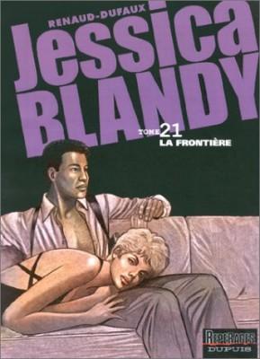 "Afficher ""Jessica Blandy n° 21 La frontière"""