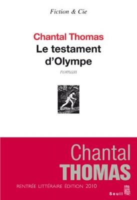 "Afficher ""Le testament d'Olympe"""