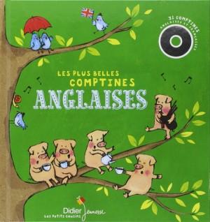 """Afficher """"Les Plus belles comptines anglaises (avec 1CD)"""""""