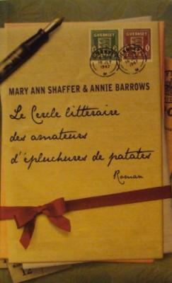 vignette de 'Cercle littéraire des amateurs d'épluchures de patates (Mary Ann Shaffer)'