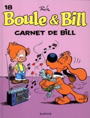 """Afficher """"Boule et Bill n° 18 Carnet de Bill"""""""