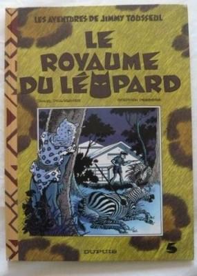 """Afficher """"Les Aventures de Jimmy Tousseul n° 5 Le Royaume du léopard"""""""