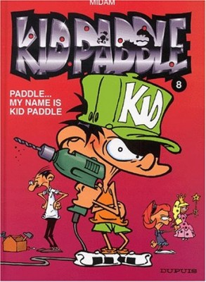 vignette de 'Kid Paddle n° 8<br />Paddle, my name is Kid Paddle (Midam)'