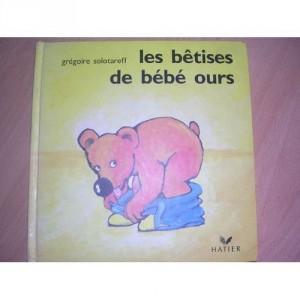 """Afficher """"Les bêtises de bébé ours"""""""