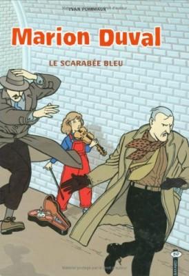 Couverture de Marion Duval. n° 1 Le scarabée bleu