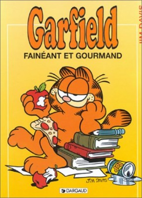 """Afficher """"Garfield n° 12 Fainéant et gourmand"""""""