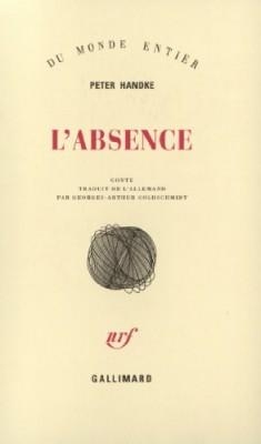 "Afficher ""L'Absence"""
