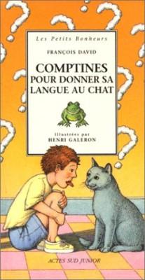 """Afficher """"Comptines pour donner sa langue au chat"""""""
