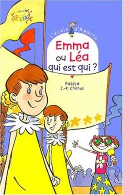 """Afficher """"L'Ecole d'Agathe n° 9 Emma ou Léa, qui est qui ?"""""""