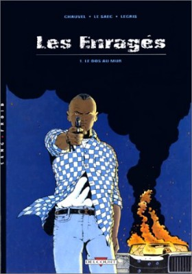 """Afficher """"Les enragés n° 1LE DOS AU MUR"""""""