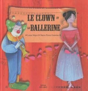 Couverture de Le clown et la ballerine