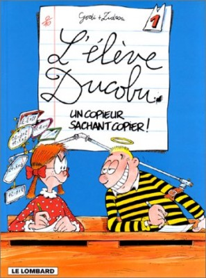 """Afficher """"L'élève Ducobu n° 1 Un copieur sachant copier"""""""
