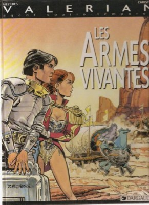 "Afficher ""Valérian agent spatio-temporel Les armées vivantes"""