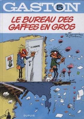 """Afficher """"Gaston n° 5 Le bureau des gaffes en gros"""""""