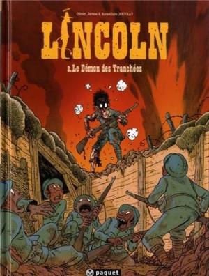 vignette de 'Lincoln n° 8<br />Le démon des tranchées (Olivier Jouvray)'