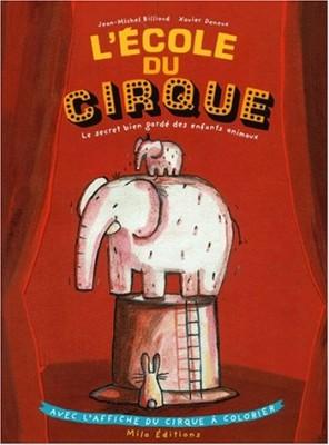 """Afficher """"L'école du cirque"""""""