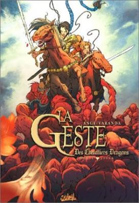 """Afficher """"Geste des Chevaliers Dragons (La) n° 1La geste des chevaliers dragons n° 1Jaïna"""""""