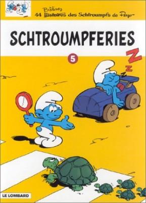 """Afficher """"Les Schtroumpfs Schtroumpferies."""""""