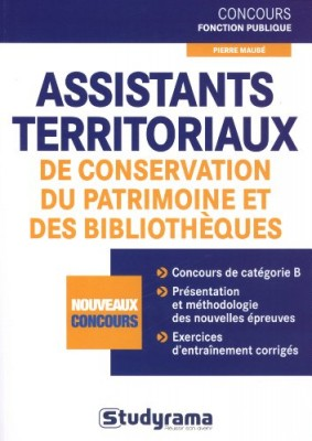 """Afficher """"Assistants territoriaux de conservation du patrimoine et des bibliothèques"""""""