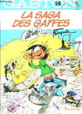 """Afficher """"Gaston n° 14 La Saga des gaffes"""""""