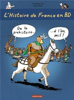 """Afficher """"L'Histoire de France en BD n° 1 De la préhistoire à l'an mil"""""""
